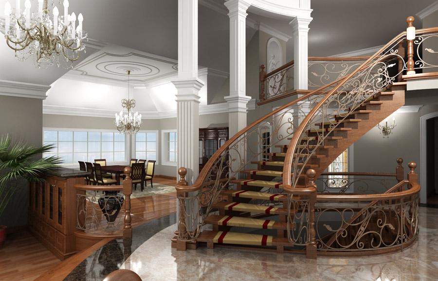 3d architectural rendering sounds greek to you all ontario for Architectural interior rendering