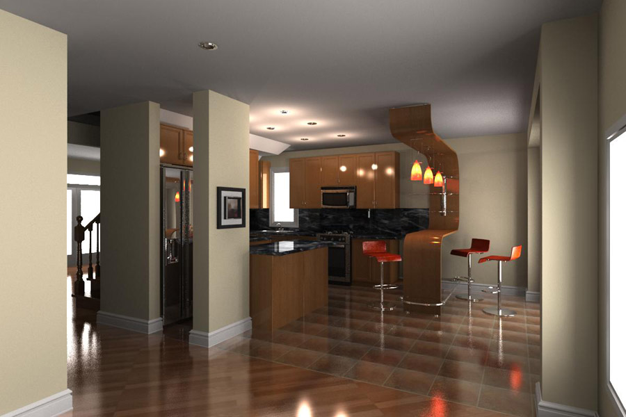 3d life realistic architectural visualization all ontario for Interior decoration in 3d max