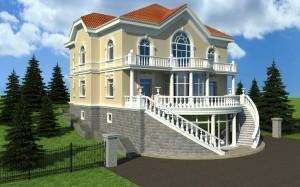 3D Life-Realistic Architectural Visualization AllOntario