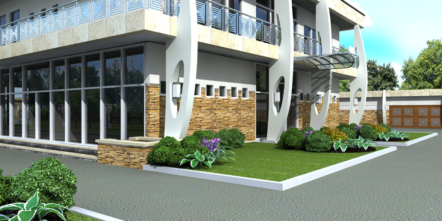 3d life realistic architectural visualization walk for 3d walk through house