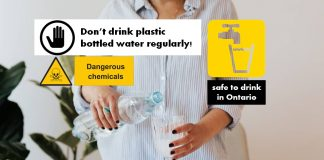 Don't drink plastic bottled water regularly!