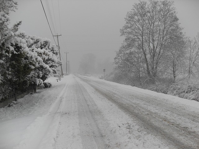 Winter driving in Ontario