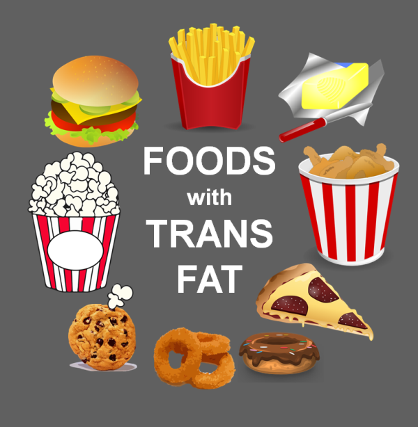 What foods have trans fat?
