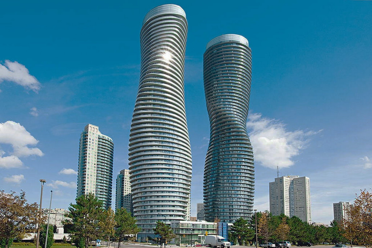"""116bca8300 Iconic """"Marilyn Monroe"""" towers in Mississauga - All Ontario"""