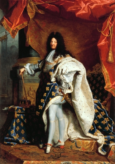 """Louis XIV of France"" by Hyacinthe Rigaud, 1701"