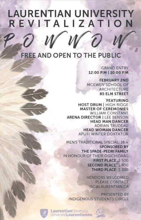 Winter 2019 POW WOW Free Cultural Event in Sudbury AllOntario