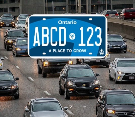 New Ontario Licence Plates