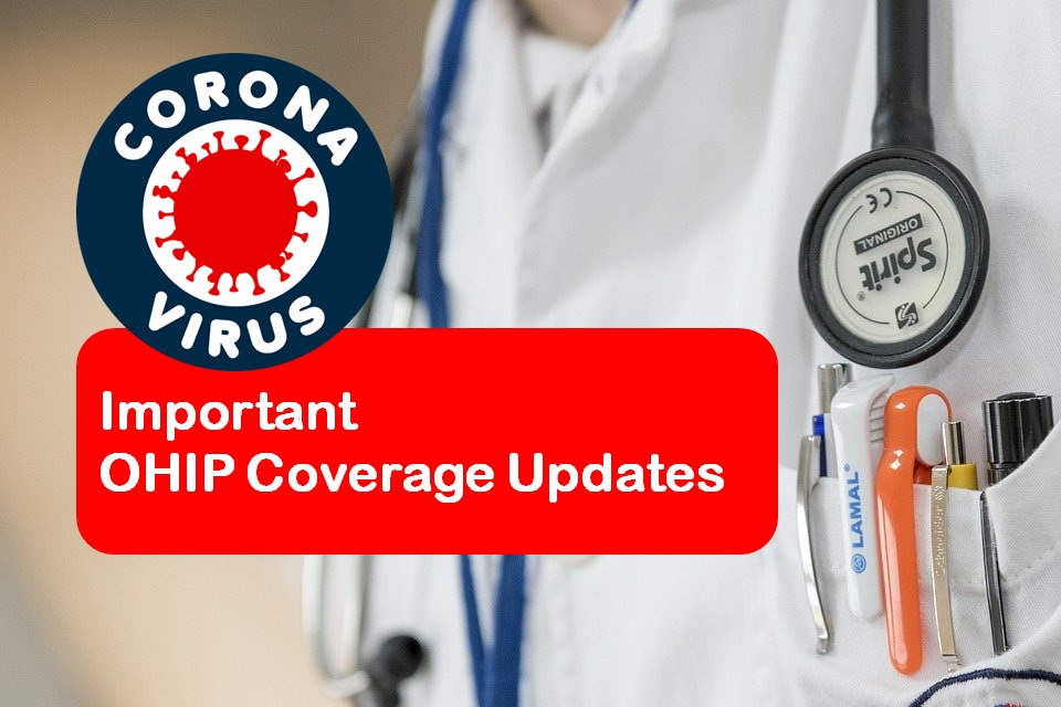 COVID-19: Important OHIP Coverage Updates