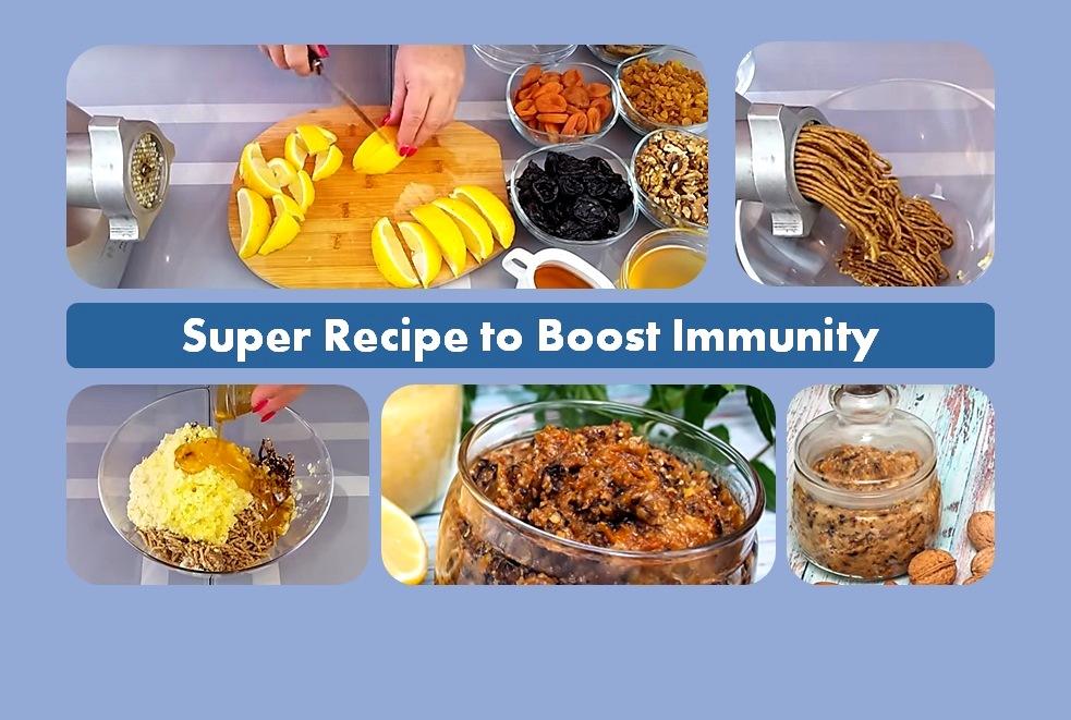 Super Recipe to Boost Immunity