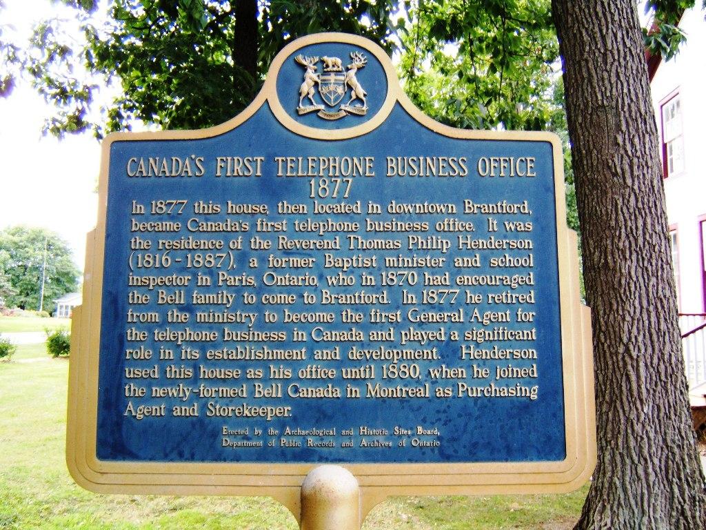 The Telephone Homeland - Alexander Bell Homestead in Brantford in Ontario AllOntario
