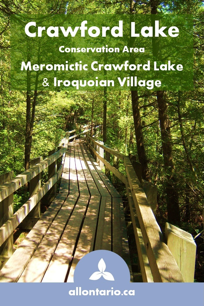 Crawford Lake Conservation Area - Iroquoian Village and Meromictic Lake