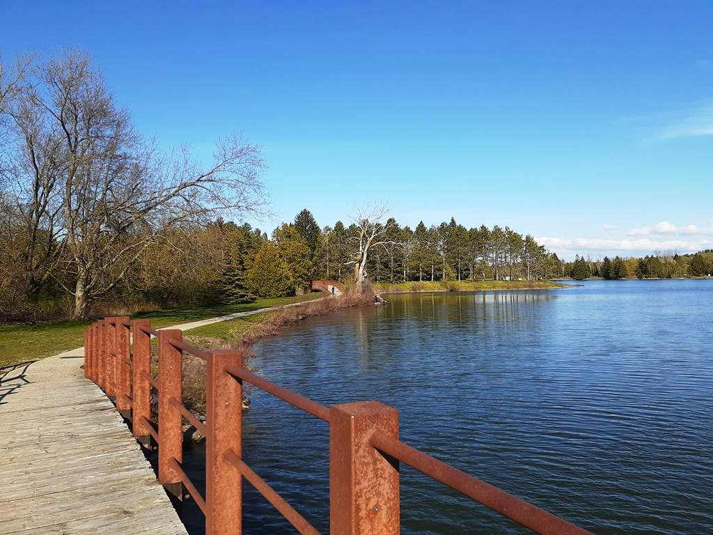 Earl Rowe Park – the First Day Out during Reopening Ontario