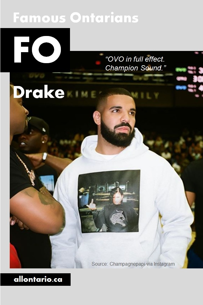 Famous Ontarians - Drake