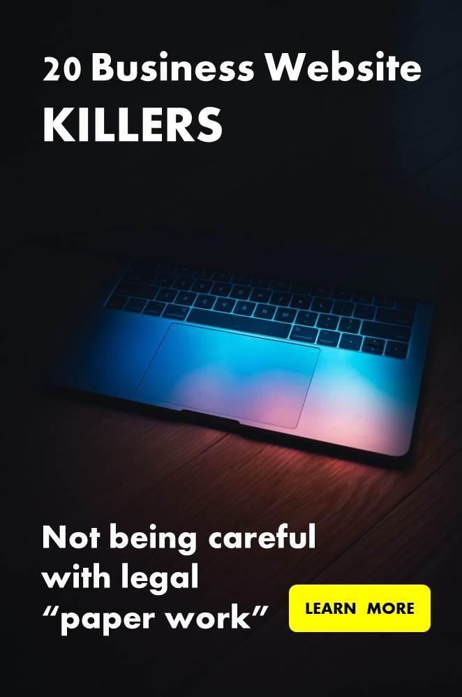 20 Online Business Killers
