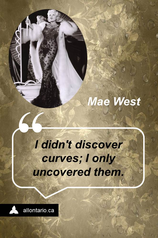 Witty Wisdom of Mae West - Mae West Quotes