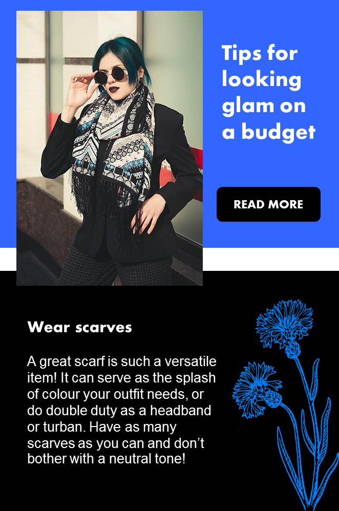 Tips for Looking Glam on a Budget