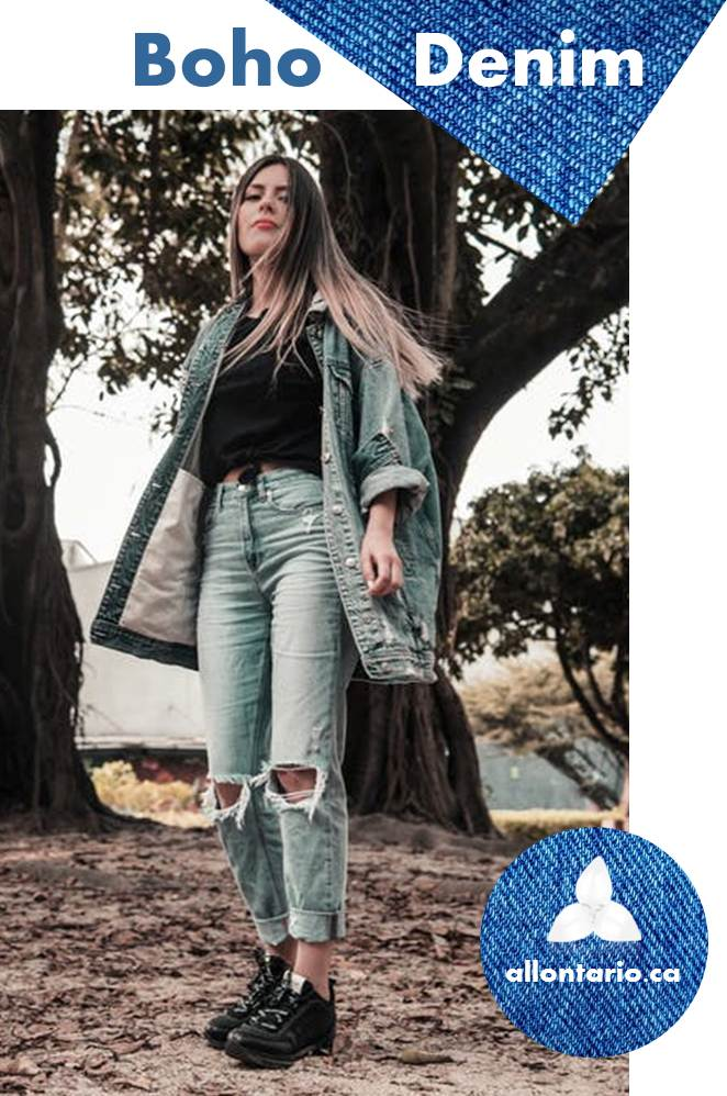 Boho Denim Outfit Gallery