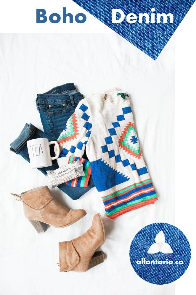Boho Denim Outfit Gallery