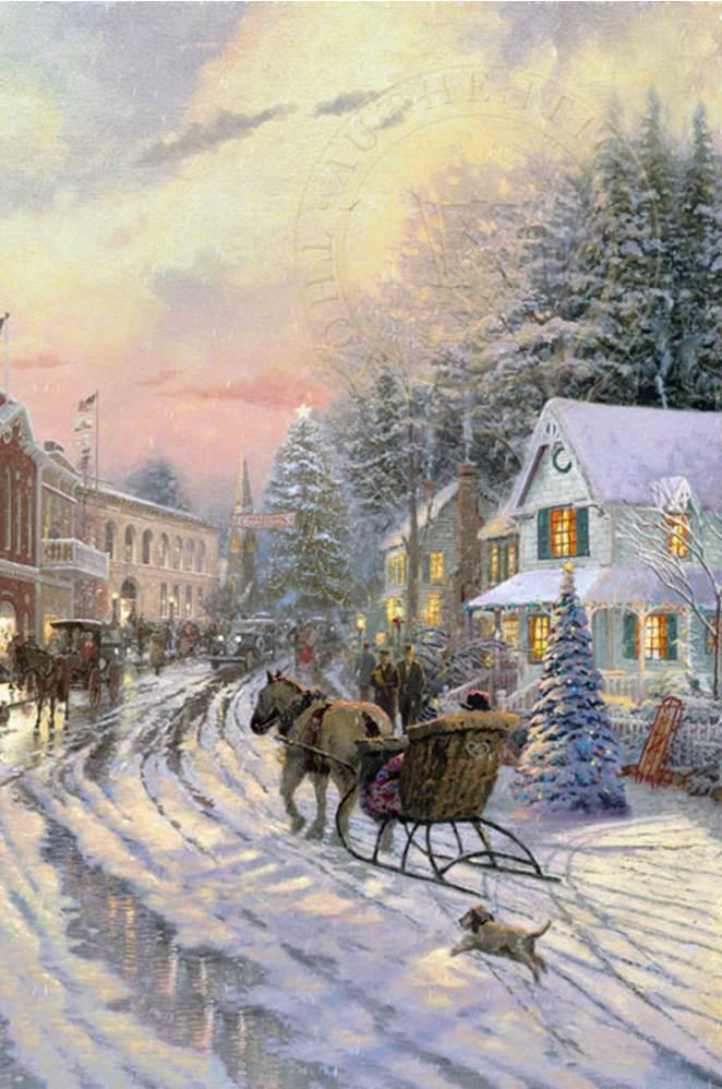 Magical Christmas of Thomas Kinkade