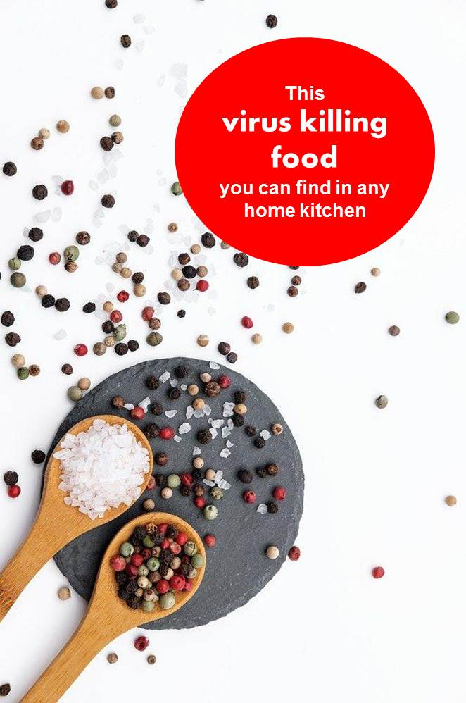 This virus killing food you can find in any home kitchen