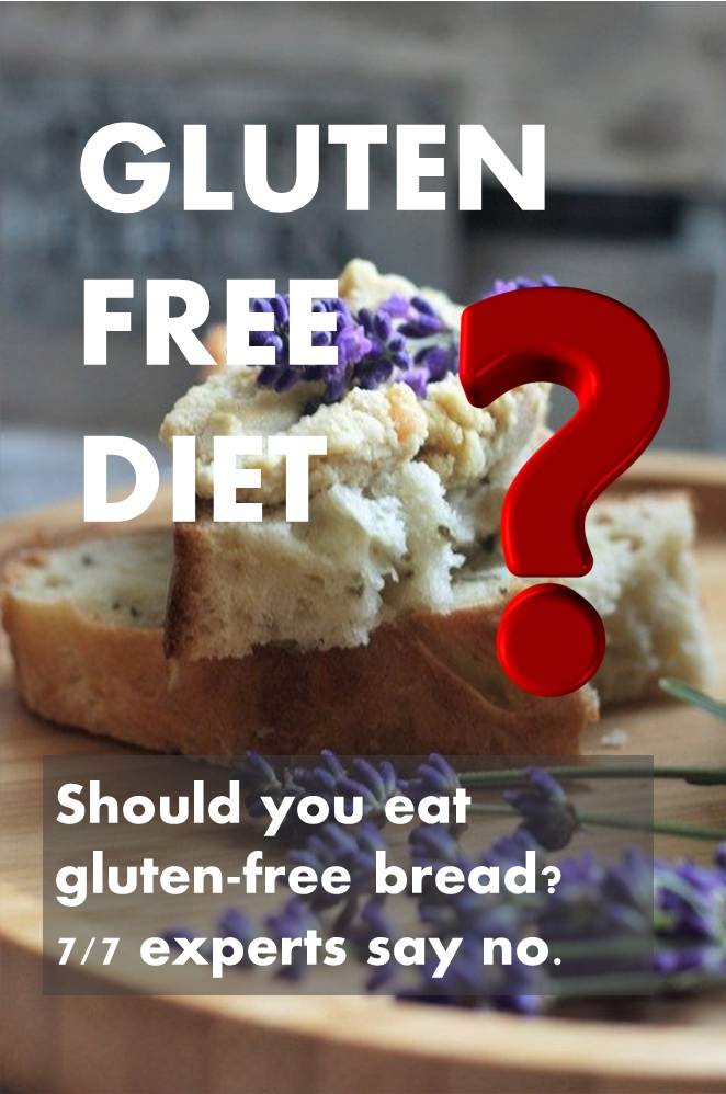 Gluten-free bread or regular bread?