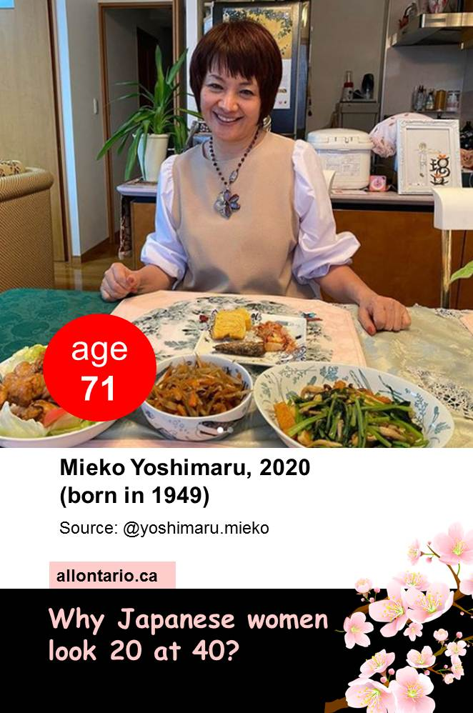 Why Japanese women look 20 at 40?