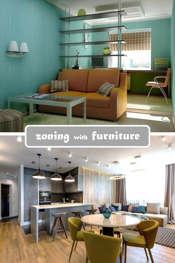Zoning with Furniture