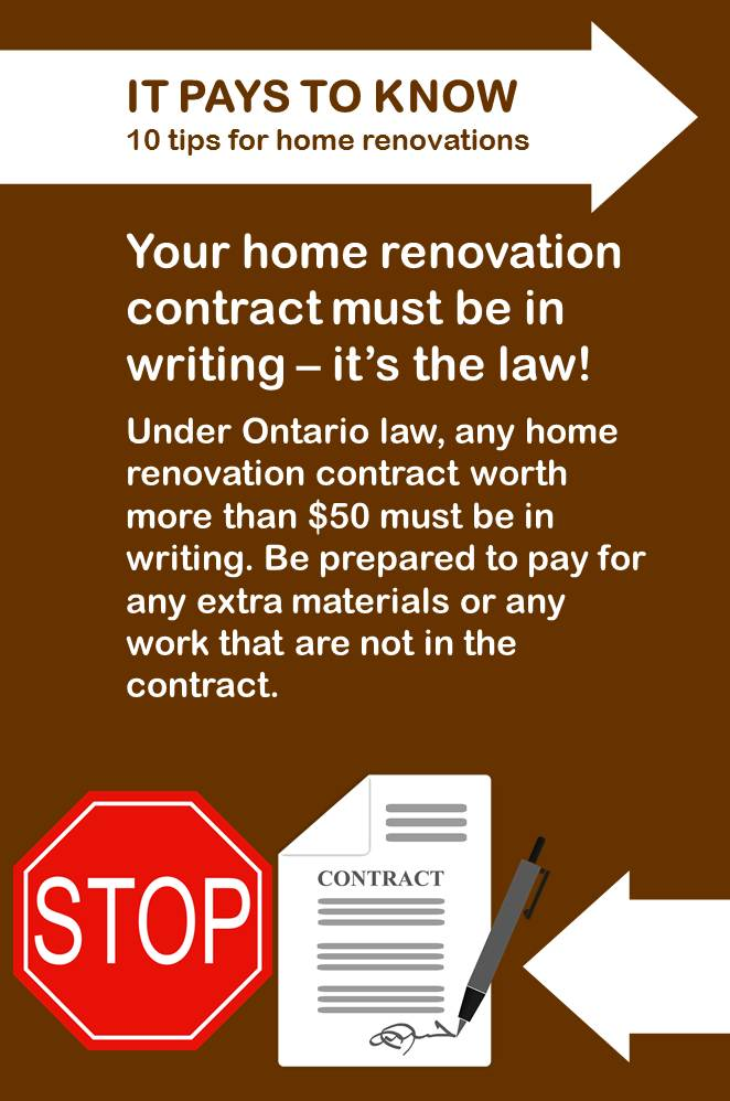 10 Tips for Home Renovations in Ontario